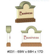 Foamco Foam Monument Signs Foam Mounted Signs Foam Props Displays